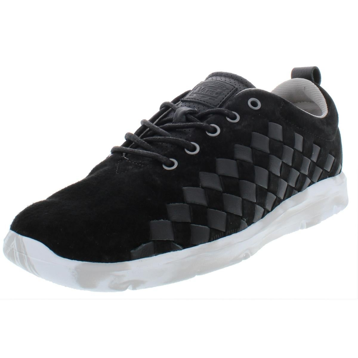 Vans Mens Tesella Plus Suede Low Top Casual Shoes