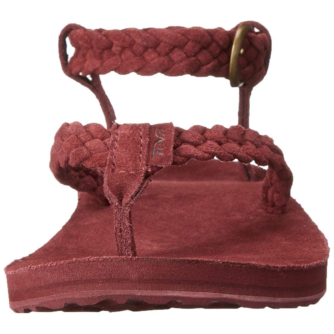 9bc5484d5da9 Shop Teva Women s Original Suede Braided Ankle-Strap Sandal - 10 - Free  Shipping On Orders Over  45 - Overstock - 25893371