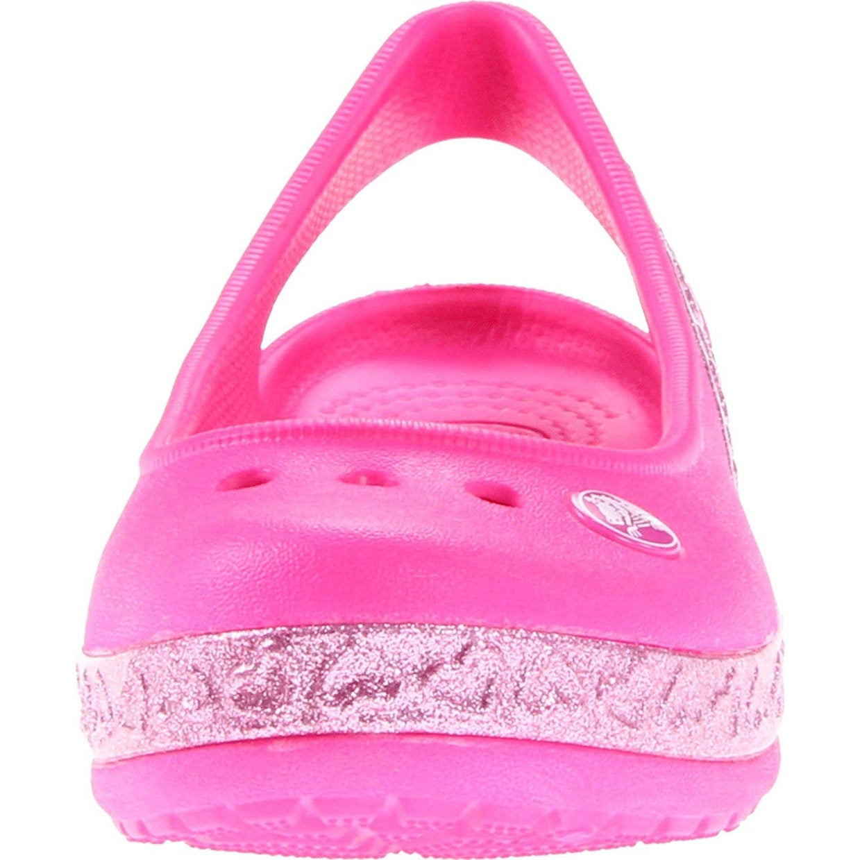 8a42a86ace71 Shop Crocs Girls  Genna II Hearts Flat GS - Free Shipping On Orders Over   45 - Overstock - 25862123