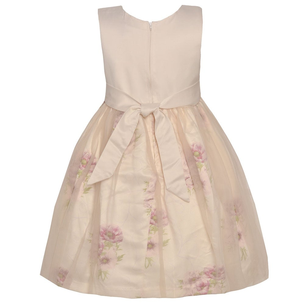 ed045a8eb Shop Mia Juliana Little Girls Pink Flower Embroidered Waist Easter Dress -  Free Shipping On Orders Over $45 - Overstock - 27103180