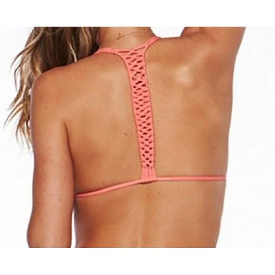 738213131cb Shop L Space NEW Pink Watermelon Women's Size XS Macrame Bikini Top  Swimwear - Free Shipping On Orders Over $45 - Overstock - 17212229