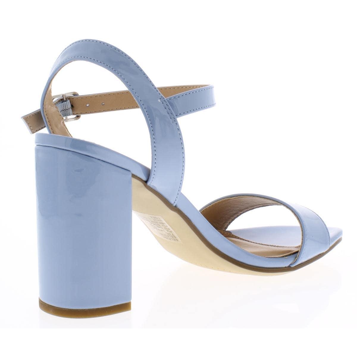 Steve Madden Womens Selfish Dress Sandals Block Heel