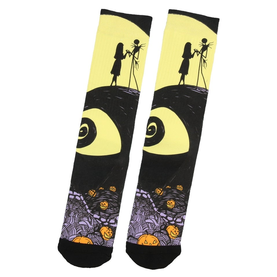 Shop Nightmare Before Christmas Jack Skellington And Sally Adult ...