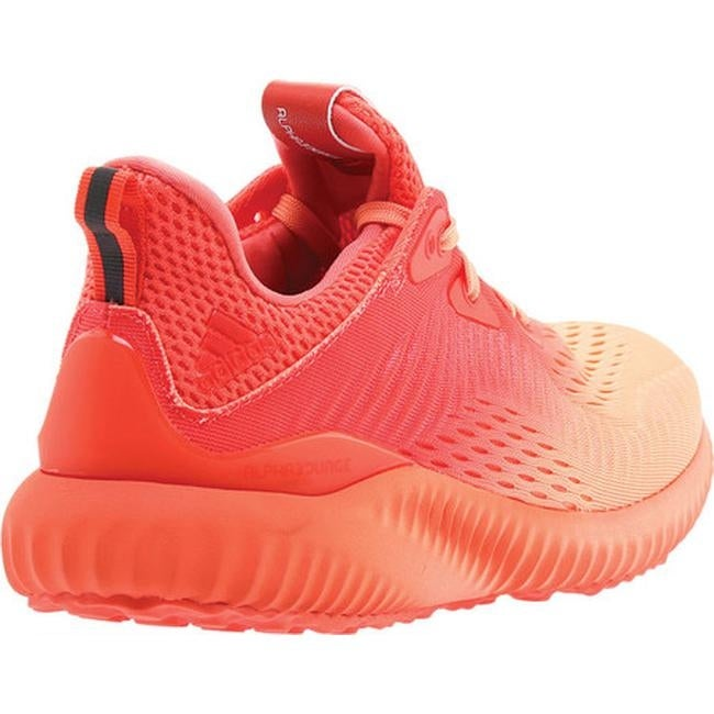 0b4fbf943 Shop adidas Women s AlphaBOUNCE EM Running Shoe Coral Sunglow Grey - Free  Shipping Today - Overstock - 25595368