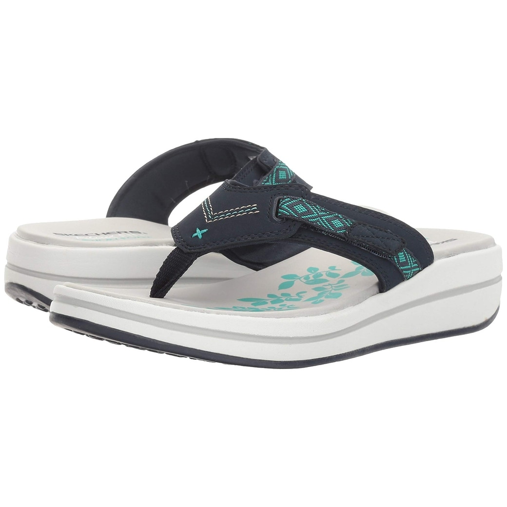 3c61842a2f3cd2 Shop Skechers Women s Upgrades Marina Bay Flip Flop