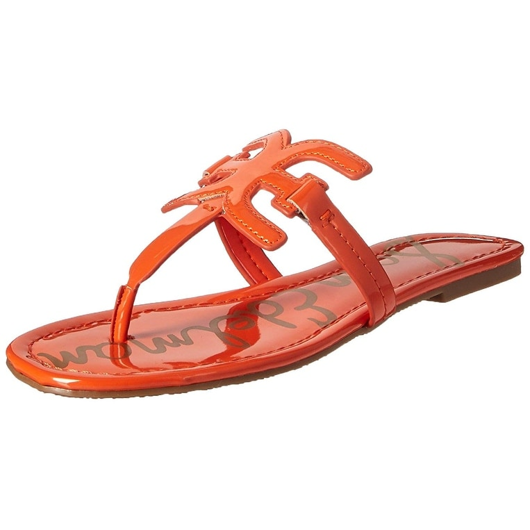 d8d890678f22 Shop Sam Edelman Women s Carter Flat Sandal - Free Shipping Today -  Overstock - 25559789