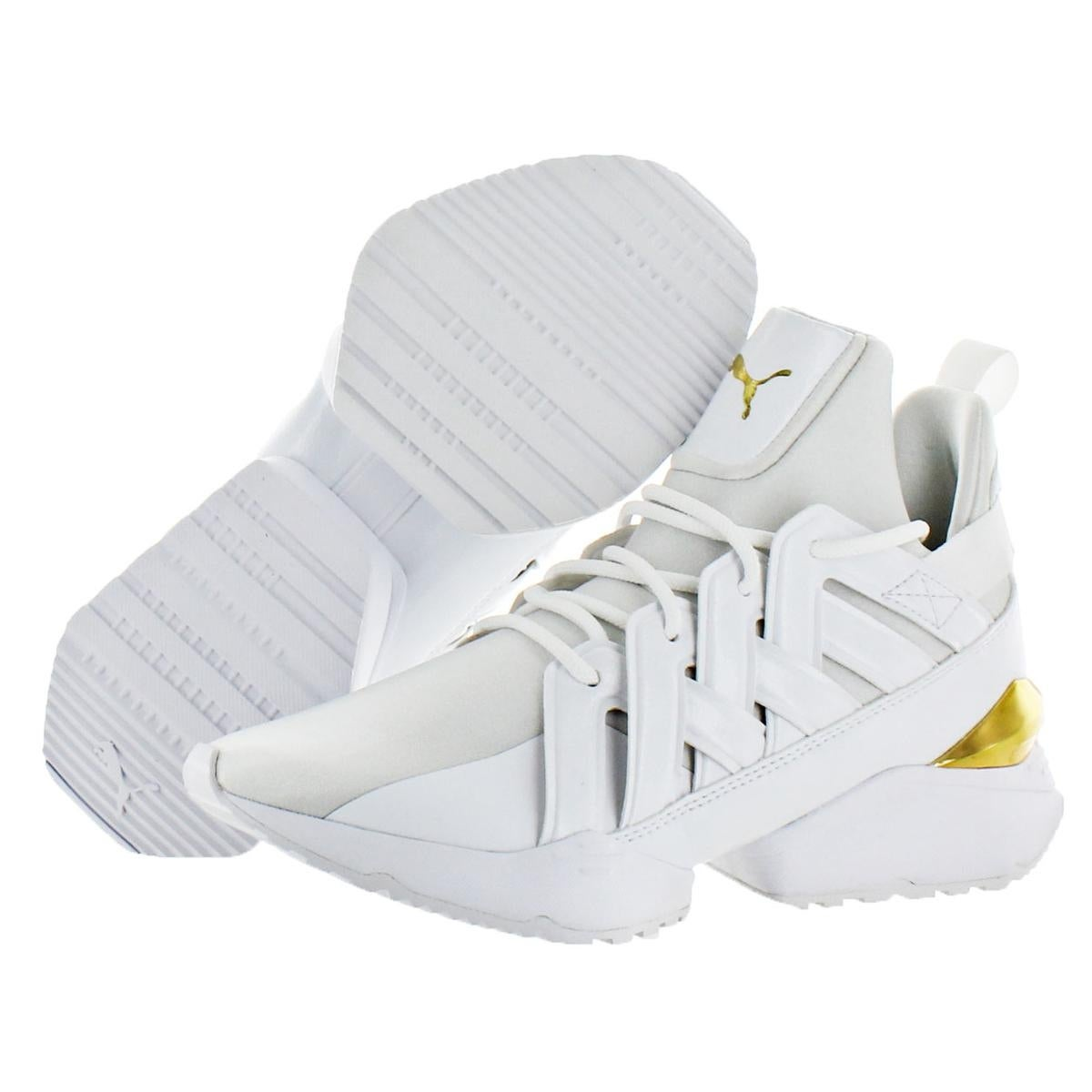 53f326fc2cbb Shop Puma Womens Muse Echo New School Trainers Fashion Athleisure - Free  Shipping Today - Overstock - 23446759