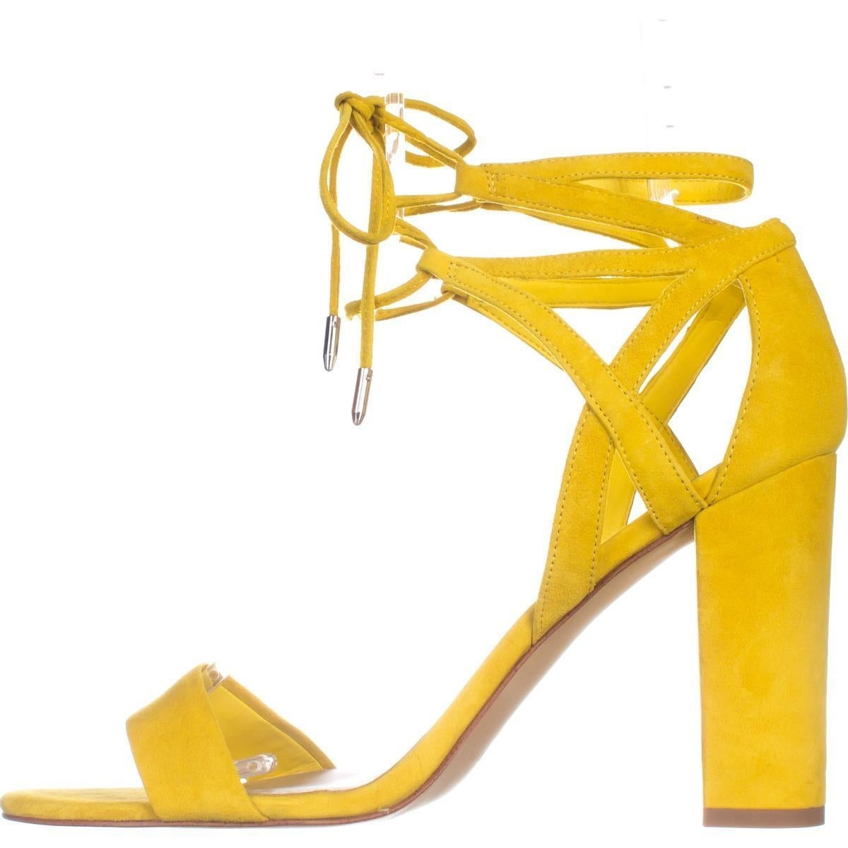 ba939da022e8 Shop Marc Fisher Fatima Lace-Up Block-Heel Sandals