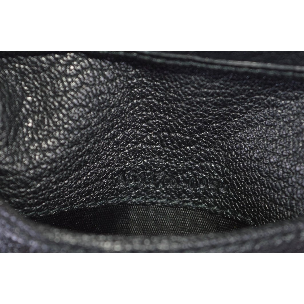 99ad41b8c92ee2 Shop Gucci Men's 451176 Black Leather Studded Bee Design Bifold Wallet -  Free Shipping Today - Overstock - 23558910