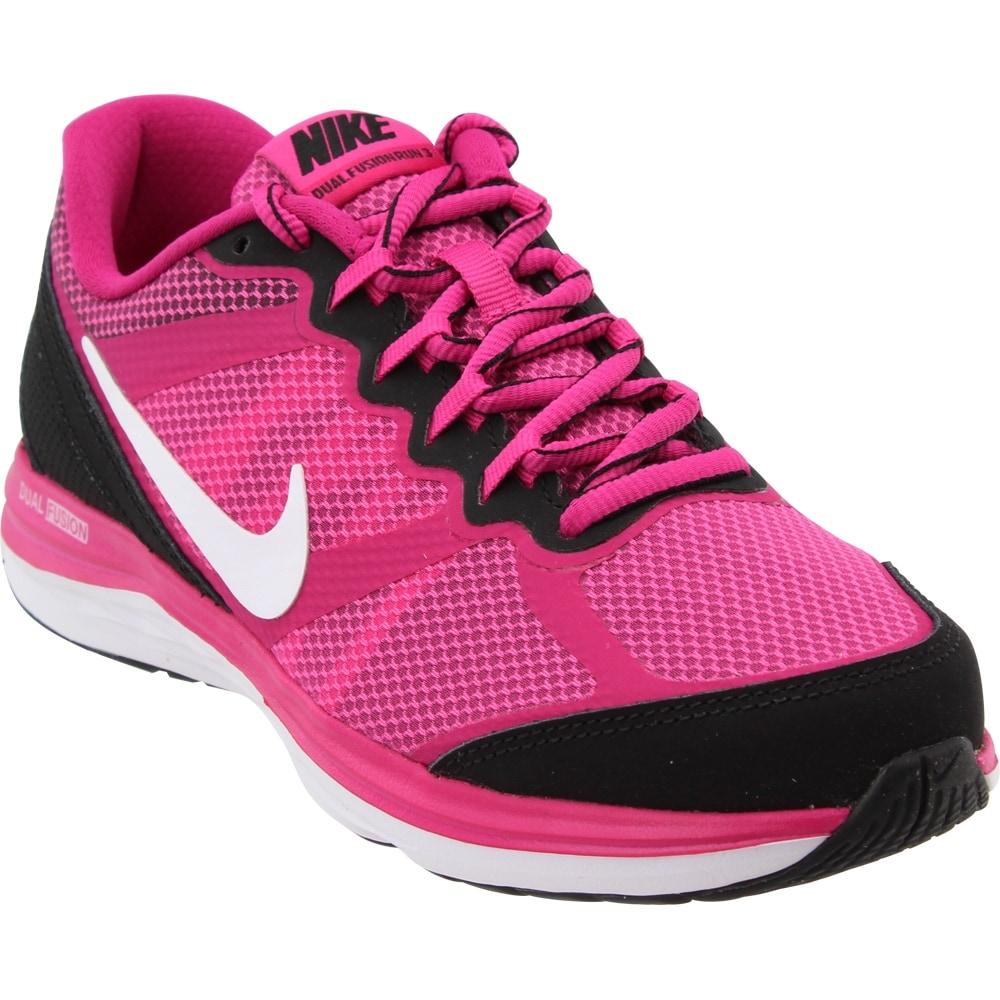 big sale e3d14 7403c Nike Womens Dual Fusion Run 3 Grade School Athletic   Sneakers