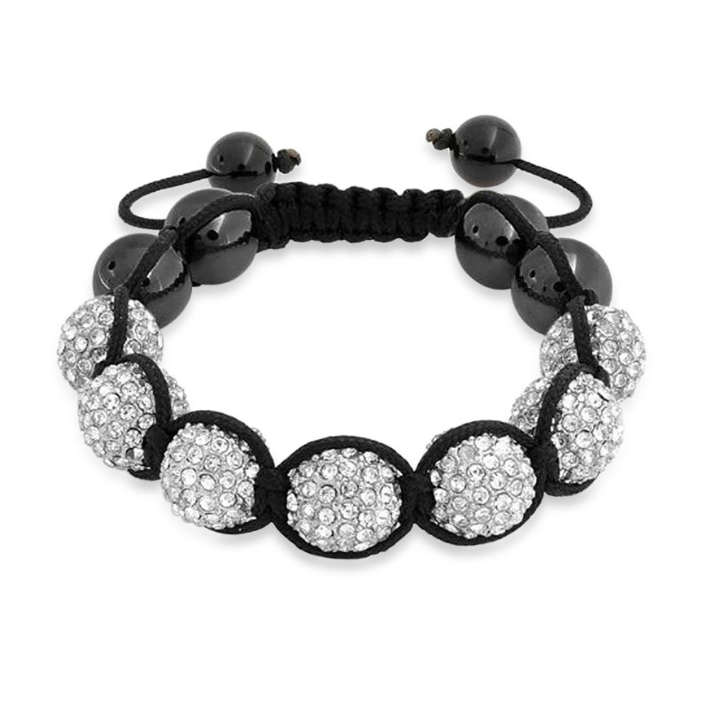 Shop Bling Jewelry Crystal Bracelet Shamballa Inspired 12mm