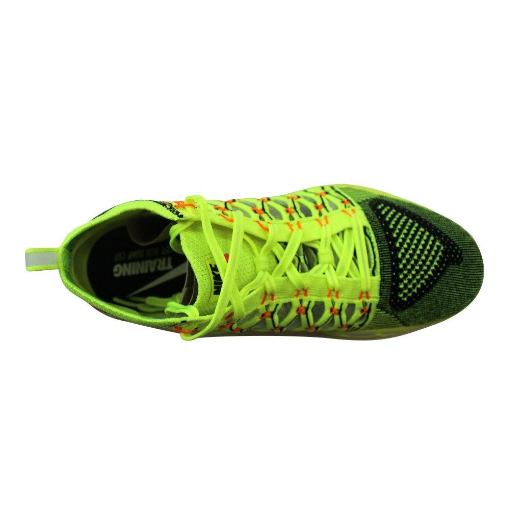 b697b69bebc2 Shop Nike Men s Train Ultrafast Flyknit Black Infrared 23-White 843694-999  Size 11.5 - Free Shipping Today - Overstock - 21141566