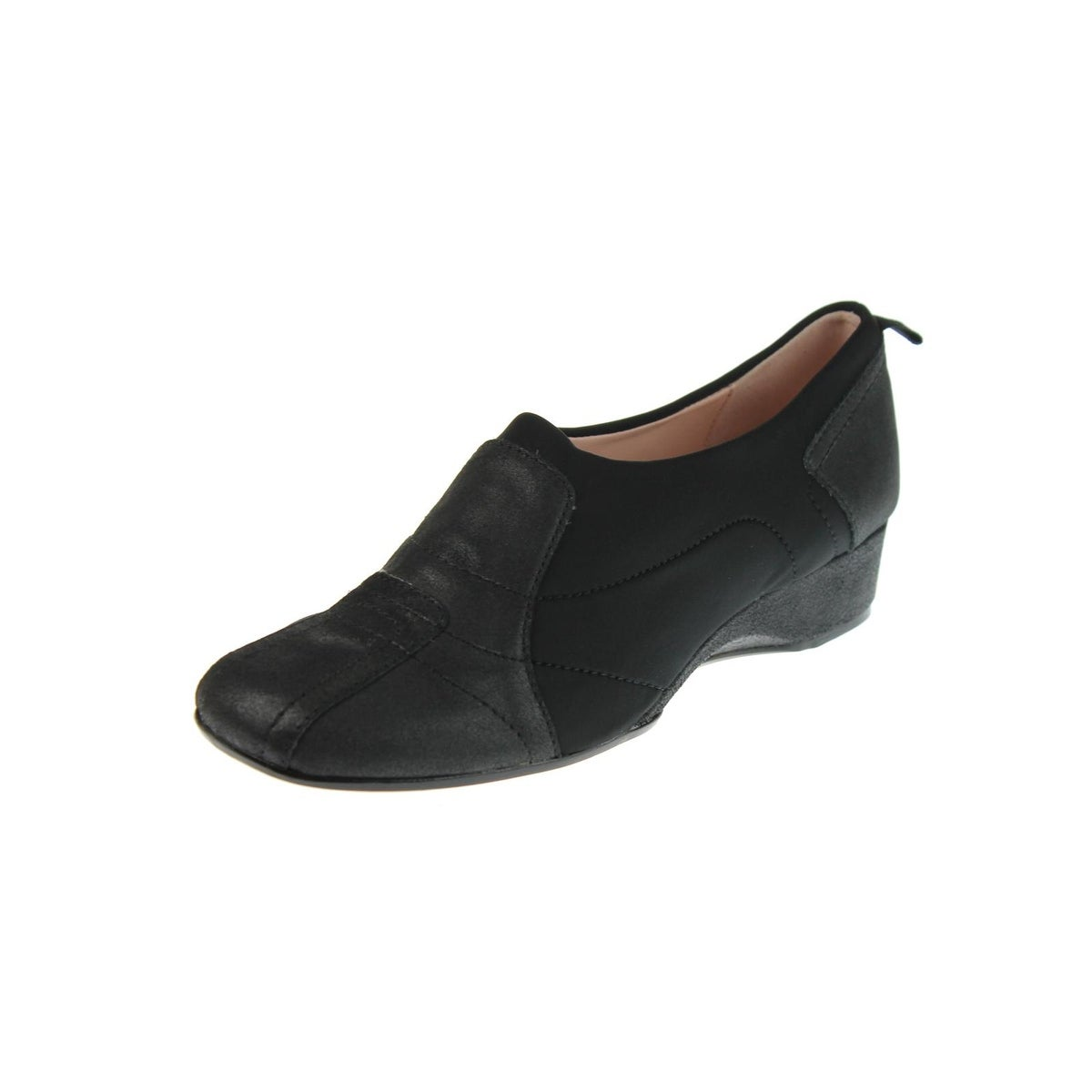 Taryn Rose Womens Kuss Round Toe Heels Textured Slip On - Free Shipping  Today - Overstock.com - 19827406
