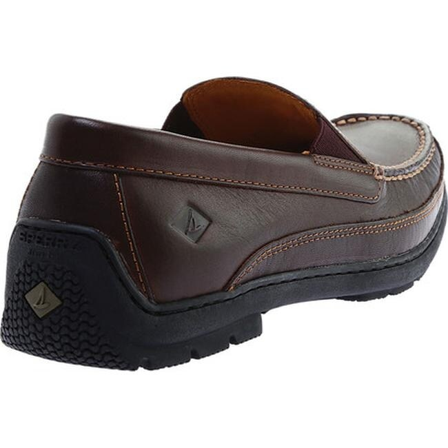 122d8adeeb8 Shop Sperry Top-Sider Men s Gold Cup Twin Gore Loafer Brown Leather - Free  Shipping Today - Overstock - 18961816