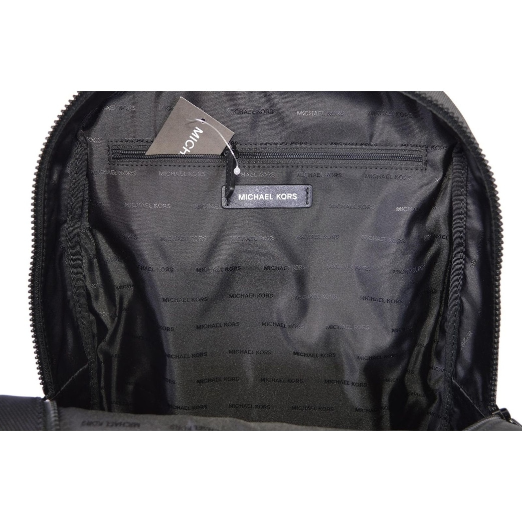 f45eceeab4e6 Shop Michael Kors Men's Black Nylon Travis Backpack Rucksack Bag - 11.25