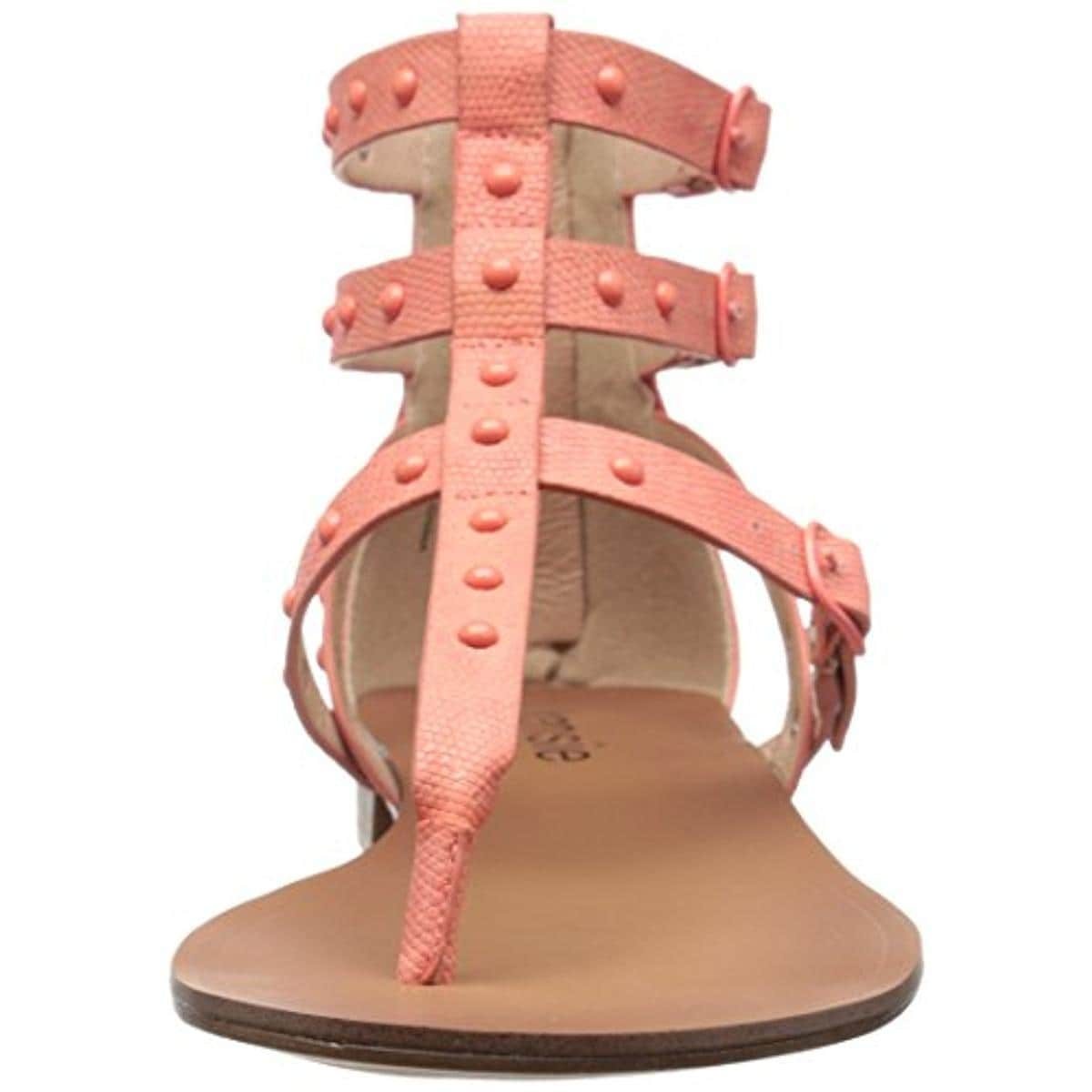 e3ce86f8bf0 Shop Kensie Womens Billie Gladiator Sandals Faux Leather Studded - Free  Shipping On Orders Over  45 - Overstock - 13087336