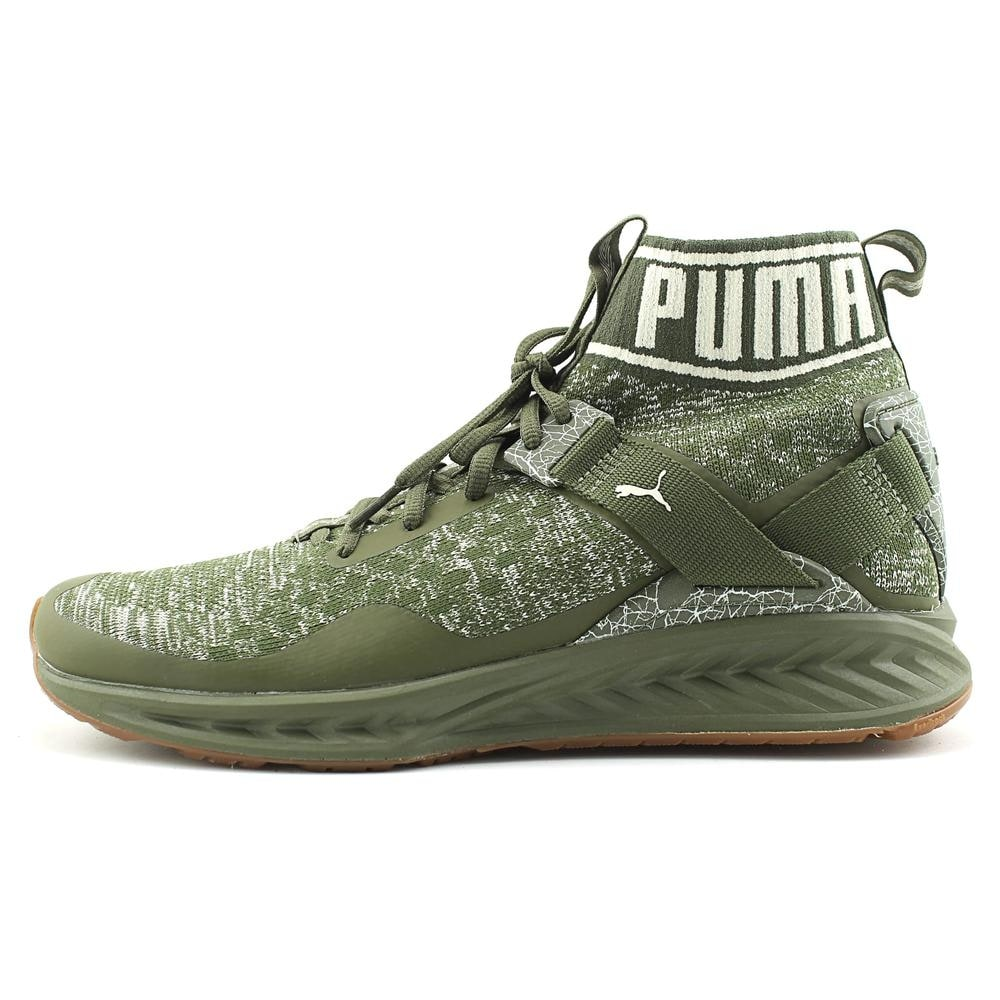 Shop Puma Ignite evoKnit Hypernature Men Round Toe Synthetic Green Sneakers  - Free Shipping Today - Overstock - 19865254 2fc5f2c64