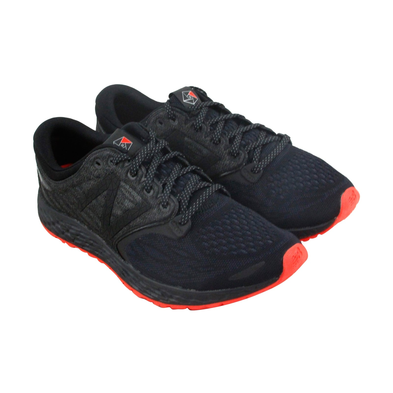 11a1f2588f New Balance Course Womens Black Textile Athletic Lace Up Running Shoes