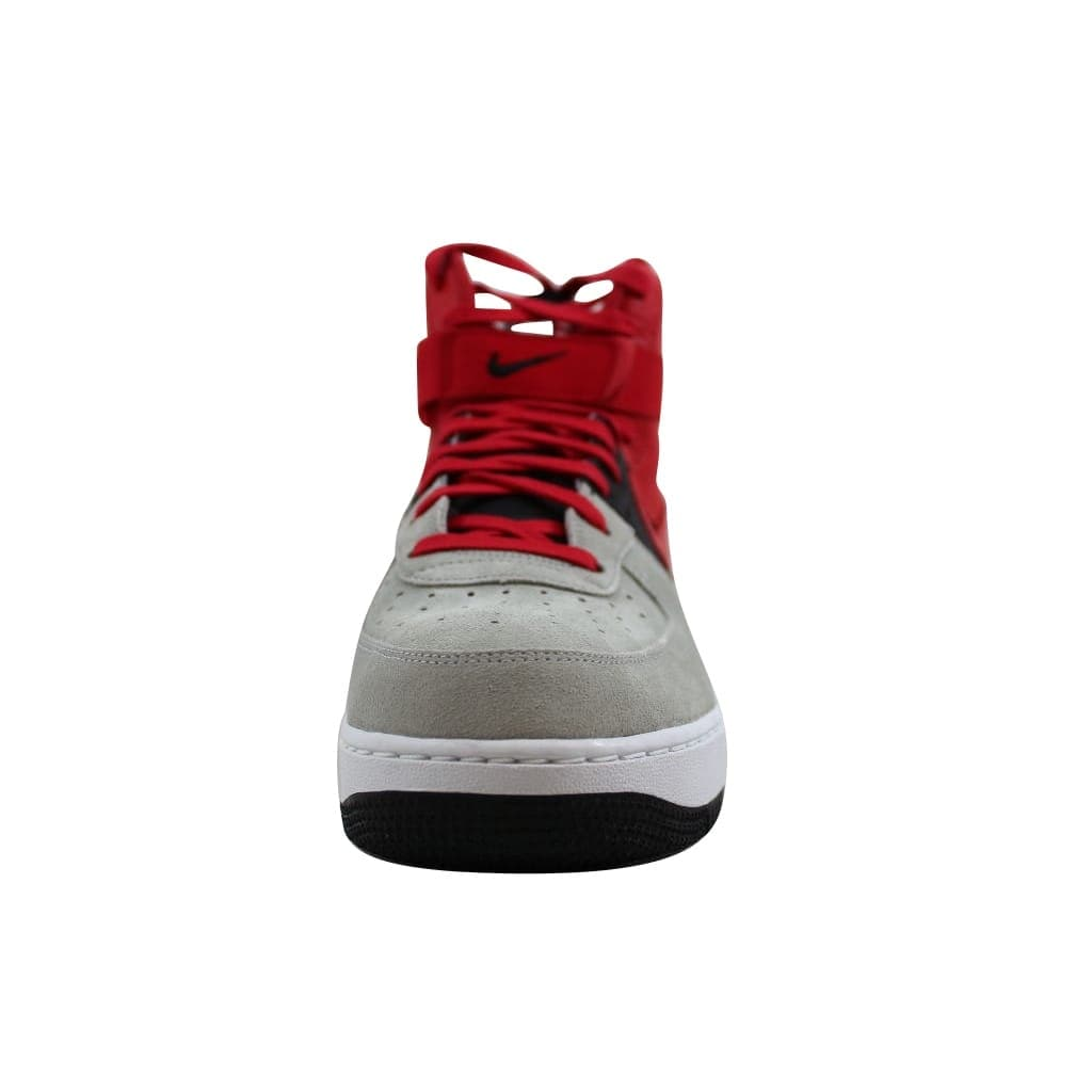 wholesale dealer 9ab1c ac146 Shop Nike Men s Air Force 1 High 07 LV8 Wolf Grey University Red-Black  806403-007 - Free Shipping Today - Overstock - 21893655