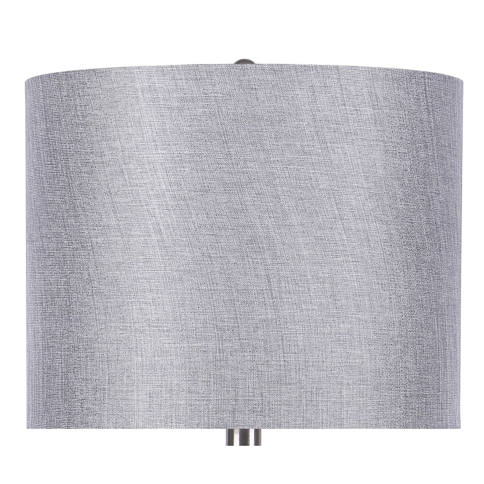 Porch Den Bakkom Brushed Nickel 24 25 Inch Table Lamp Set On Sale Overstock 30697025