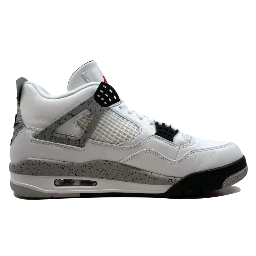 c4d68e2f021a Shop Nike Men s Air Jordan IV 4 Retro OG White Fire Red-Black-Tech Grey White  Cement 840606-192 - Free Shipping Today - Overstock - 19507407