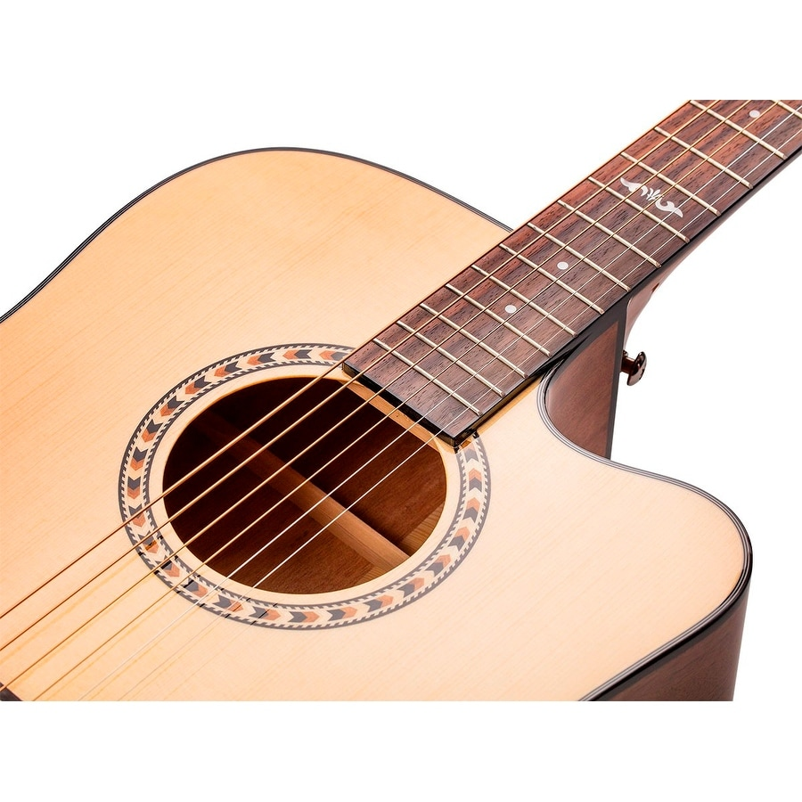 Shop Monoprice Idyllwild Spruce Solid Top Acoustic Electric Guitar