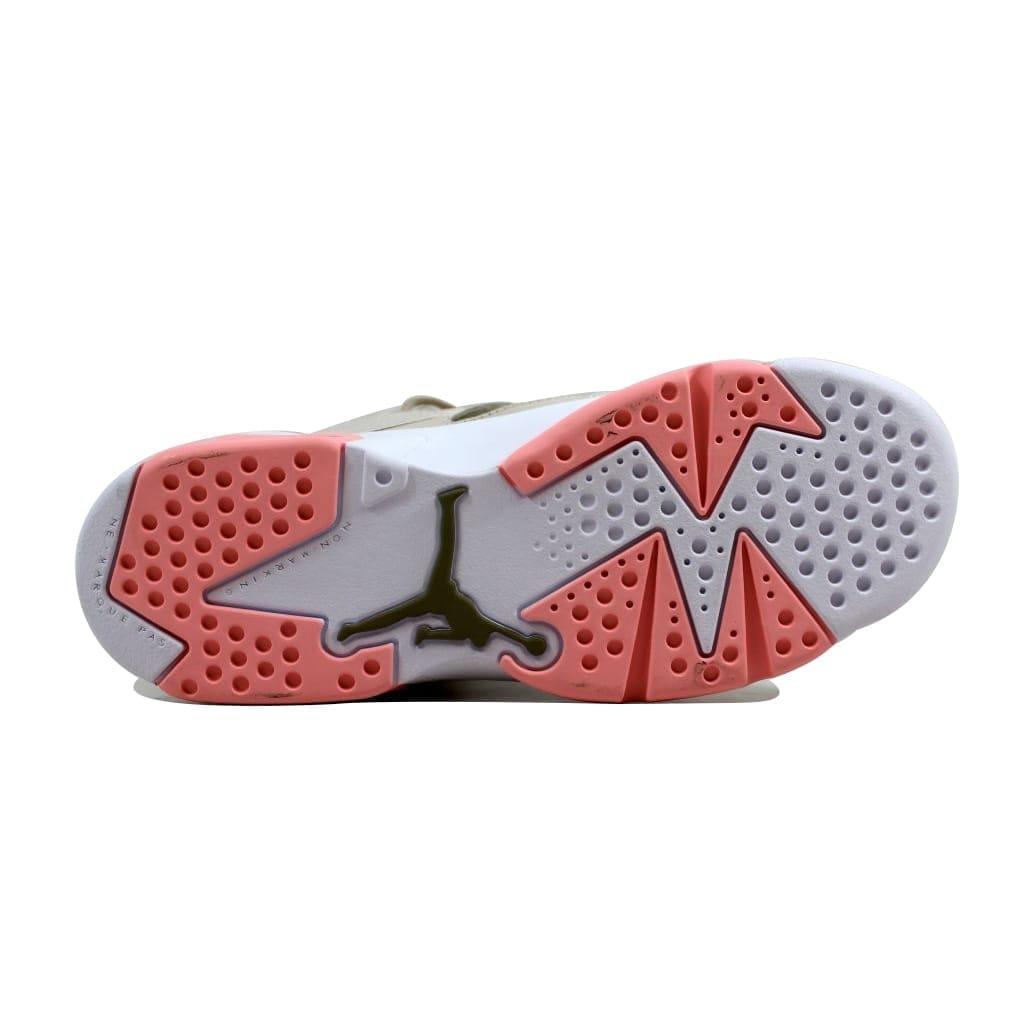 a9361b0f9c9 Shop Nike Grade-School Air Jordan Flight Club 91 Light Orewood  Brown Bleached Coral 555333-101 - Free Shipping Today - Overstock - 21893615