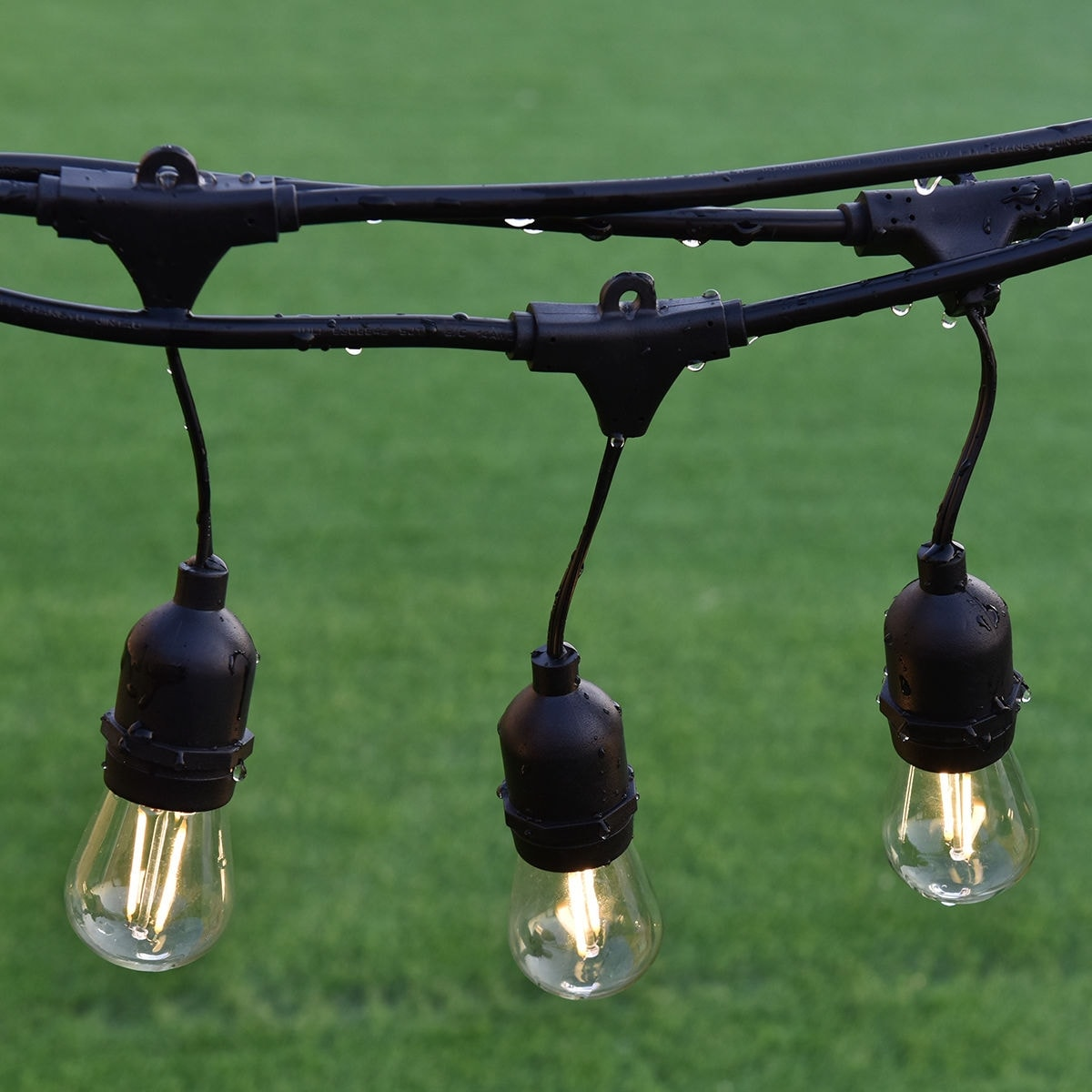 Shop Costway 48FT LED Outdoor Waterproof Commercial Grade Patio Globe  String Lights Bulbs   As Pic   Free Shipping Today   Overstock.com    21010010