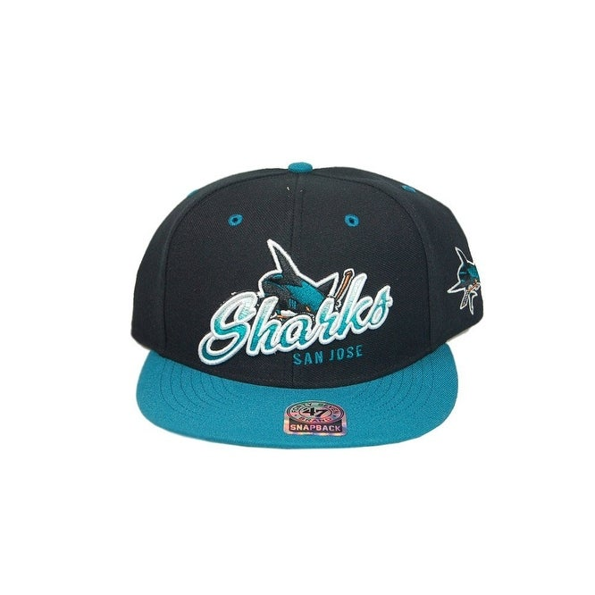 1a4da2094b2c33 Shop San Jose Sharks 47 Brand Trick Lou NHL Adjustable Snapback Hat - Free  Shipping On Orders Over $45 - Overstock - 16949471