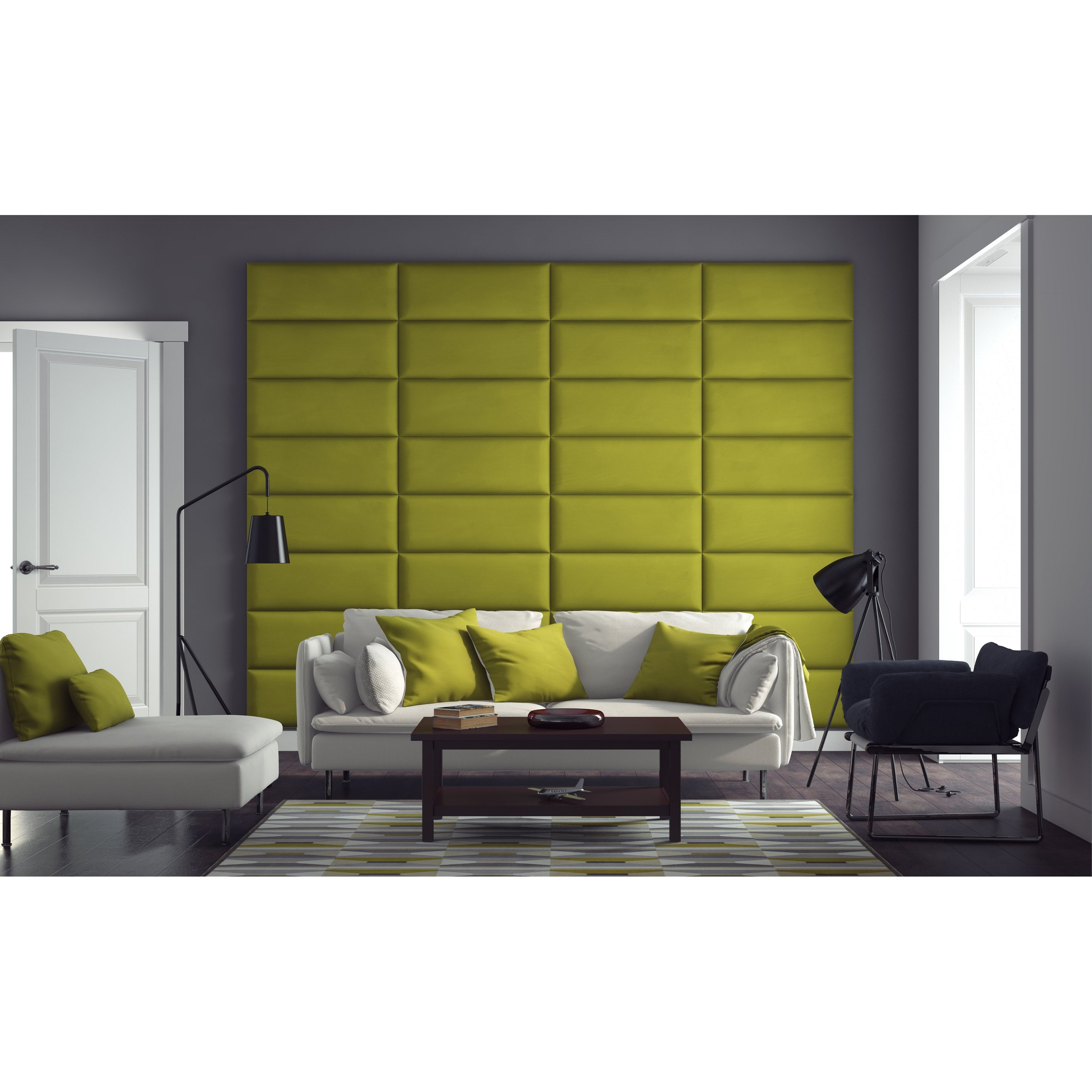 Shop Vant Upholstered Wall Panels (Headboards) Sets of 4 - Micro ...