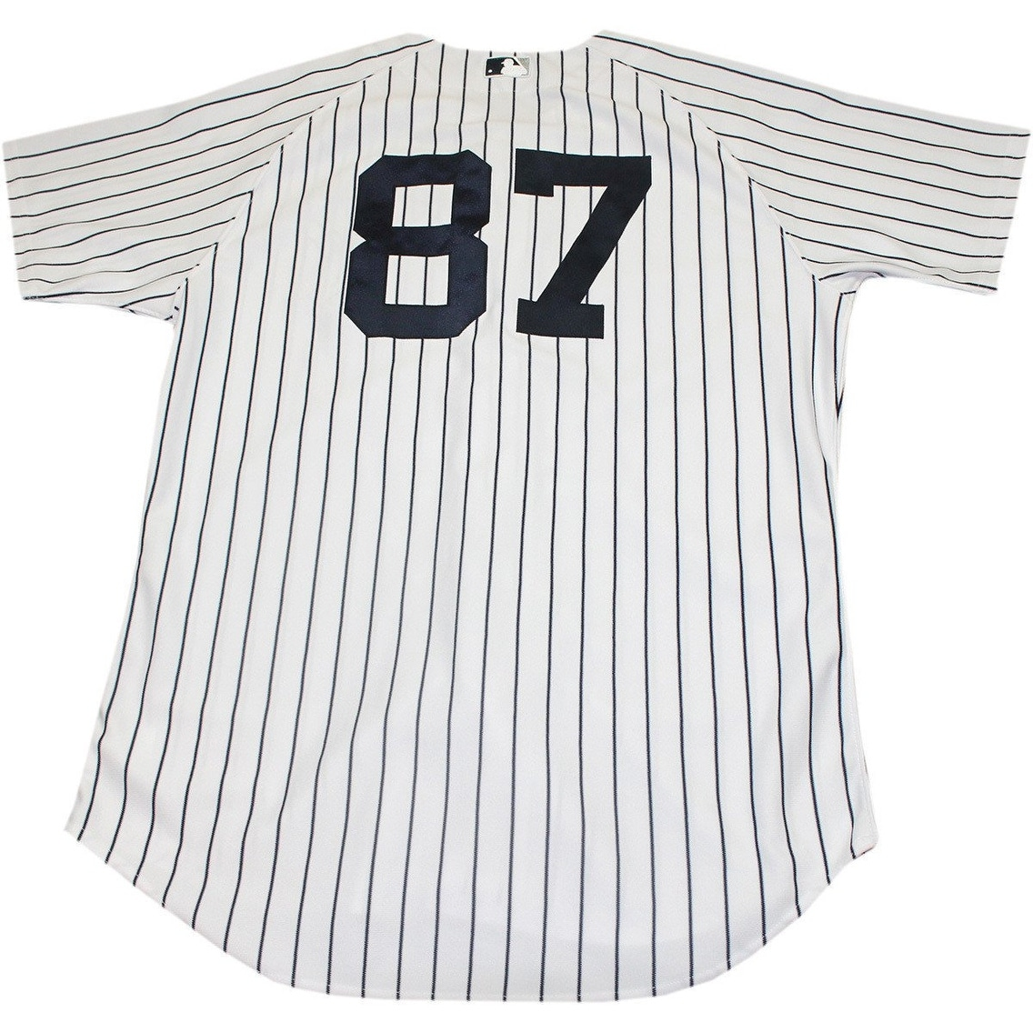 size 40 2b193 d7305 Francisco Arcia Jersey NY Yankees 2014 Spring Training Opening Day Game  Used 87 Pinstripe Jersey