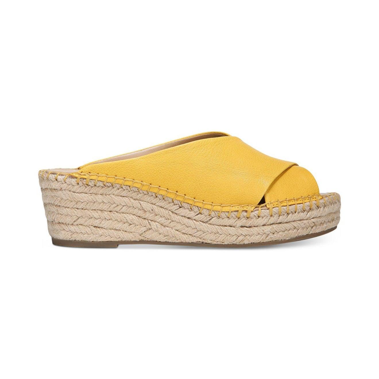 c82d09e81e3 Franco Sarto Womens Polina Leather Peep Toe Casual Platform Sandals
