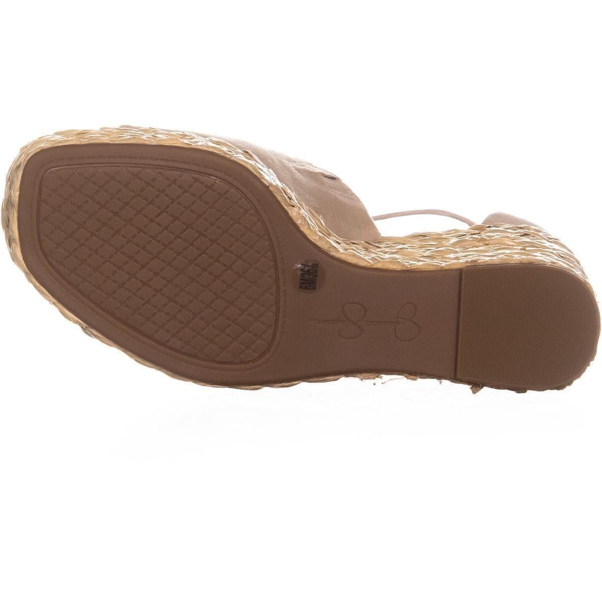 457c058a63e Jessica Simpson Suella Espadrilles Wedge Sandals, Sand Dune
