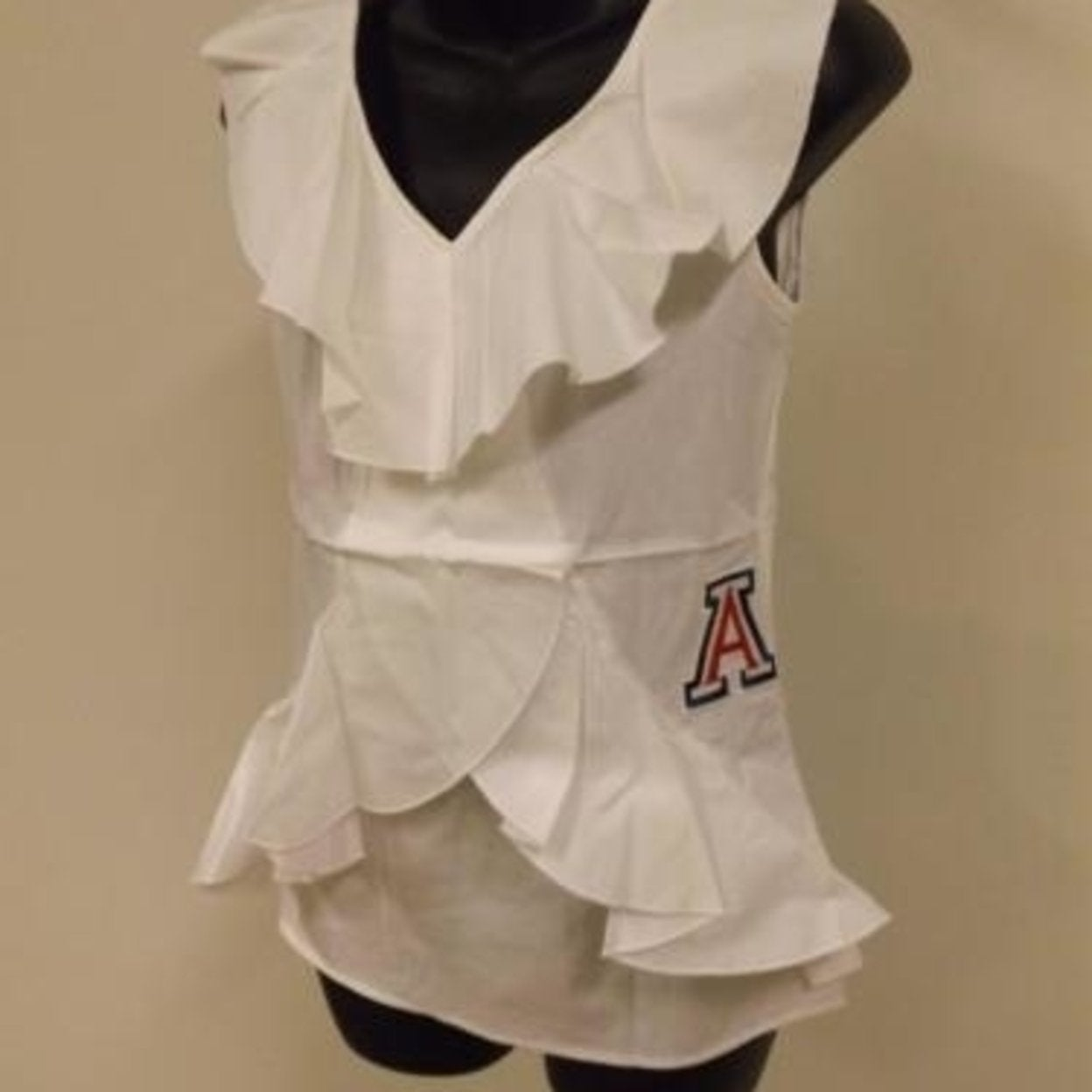 1bb6abd646acf Arizona Wildcats Womens Designer S-M-L-XL Sleeveless Shirt Meesh   Mia