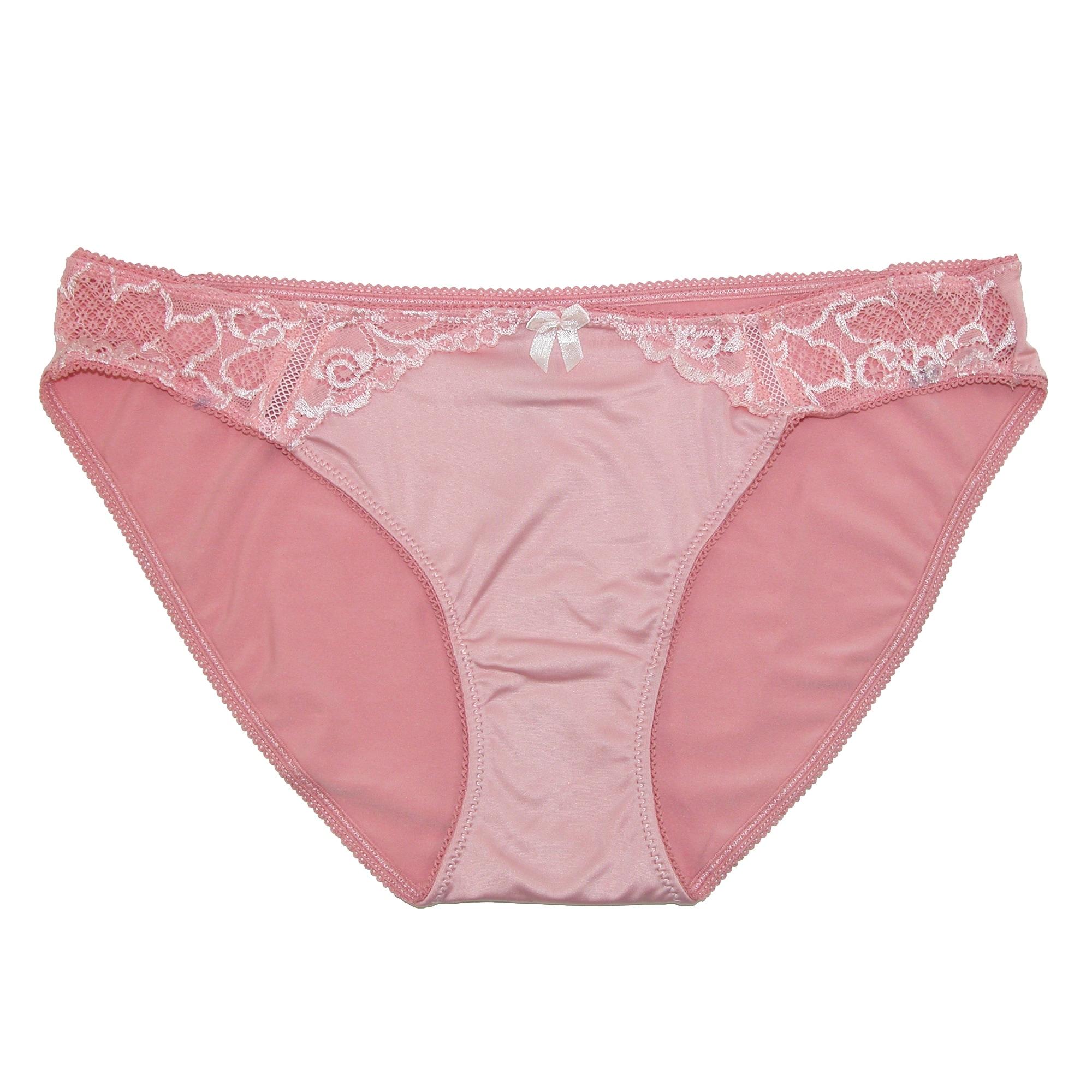 3caa9bddbbf6 Shop Rene Rofe Women's Lace Trim Bikini Underwear (Pack of 2) - Free  Shipping On Orders Over $45 - Overstock - 14294981