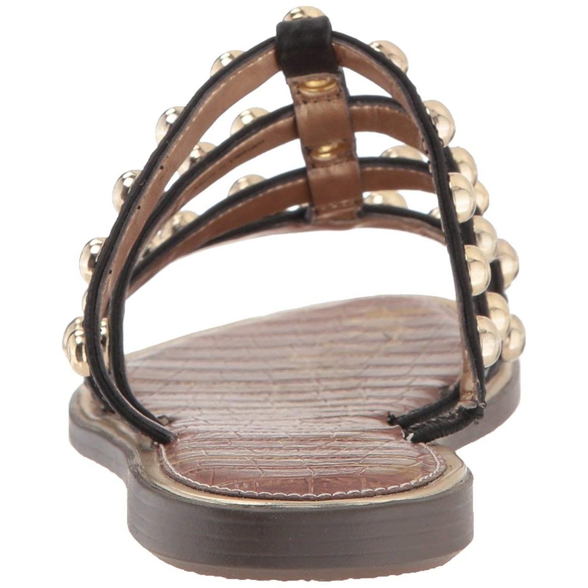 a3cb3baa21fb Shop Sam Edelman Women s Glenn Slide Sandal - Free Shipping On Orders Over   45 - Overstock - 26059634