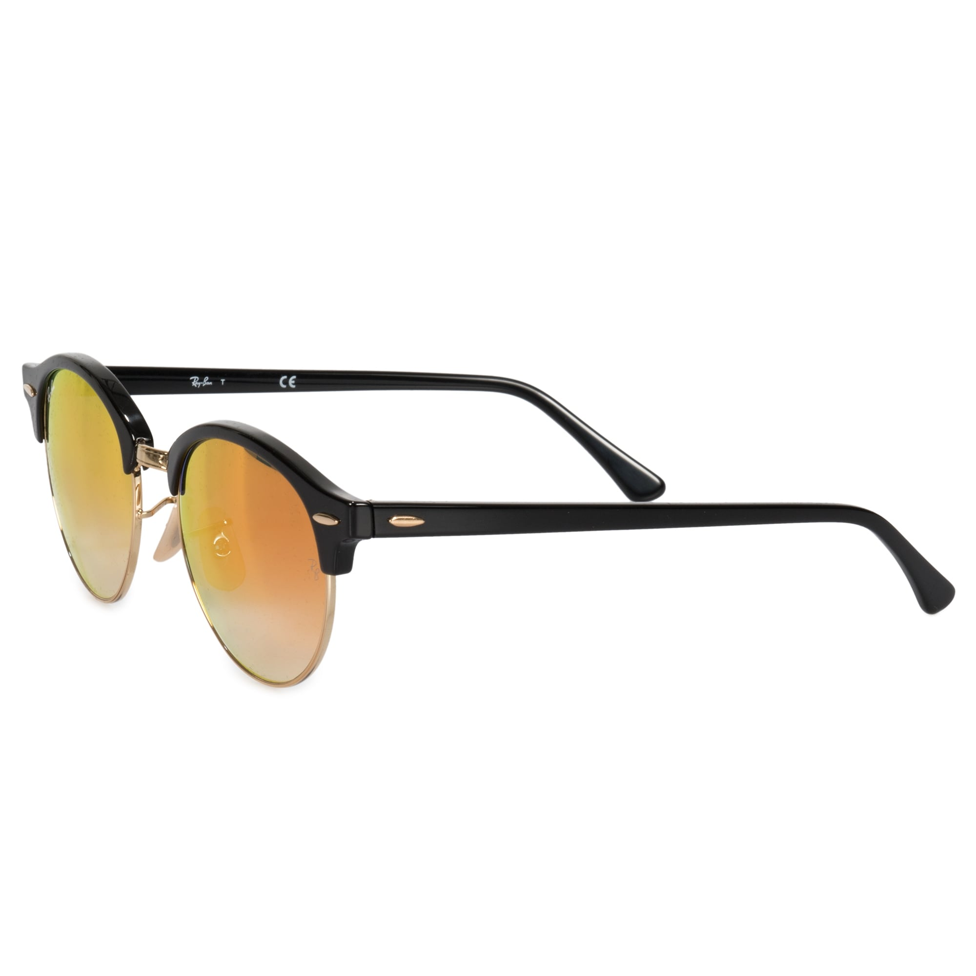 7a28fc661 Shop Ray-Ban Clubround Classic Sunglasses RB4246 901/4W 51 - On Sale - Free  Shipping Today - Overstock - 23138961