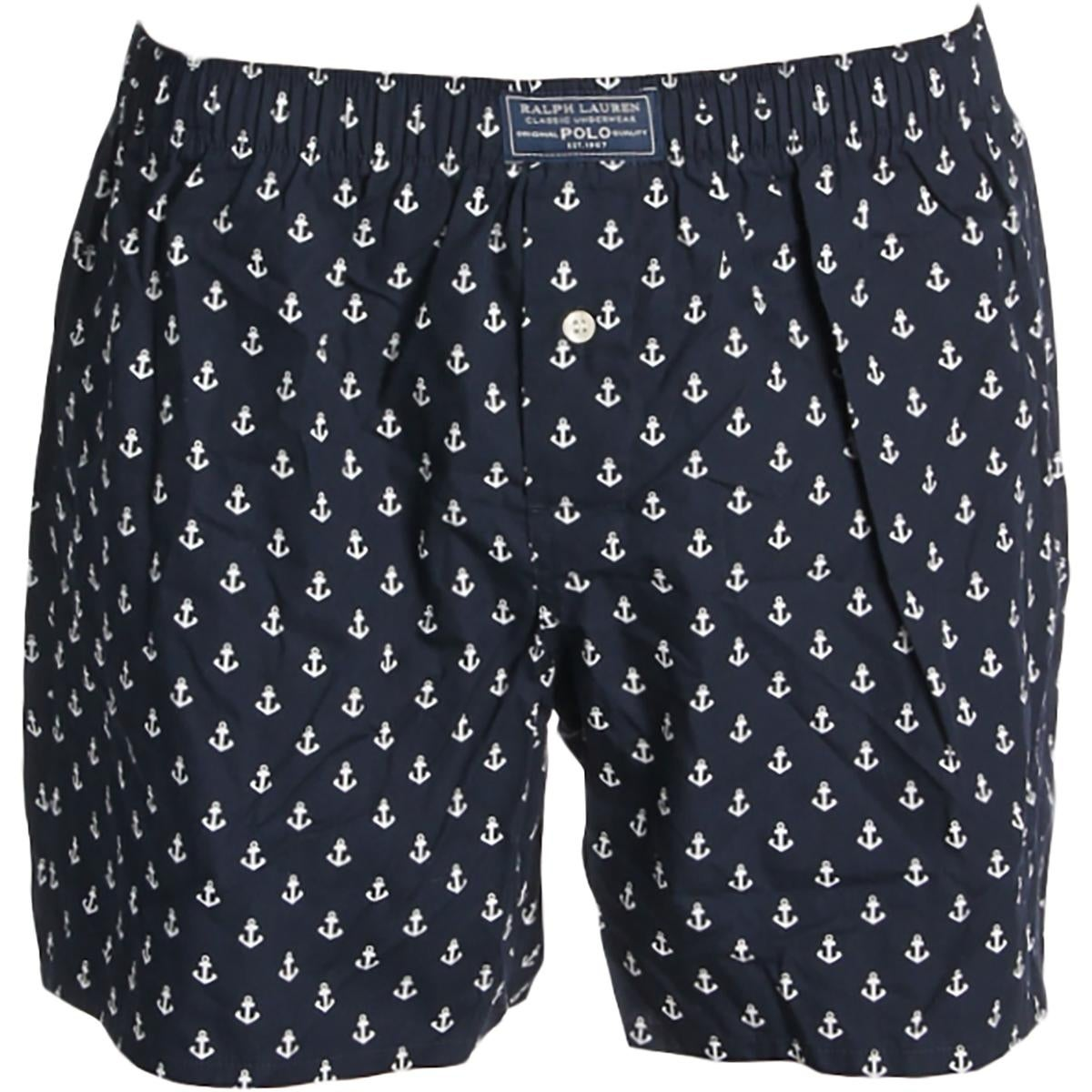 687e16d4145f Shop Polo Ralph Lauren Mens Boxers Nautical Print Cotton - S - Free  Shipping On Orders Over $45 - Overstock - 21602788