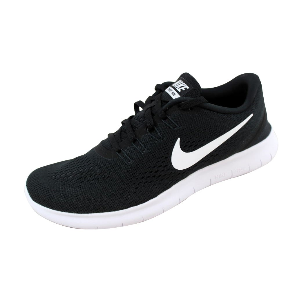 c8f650084bd7 Shop Nike Free RN Black White-Anthracite 831508-001 Men s - Free Shipping  Today - Overstock - 21141857