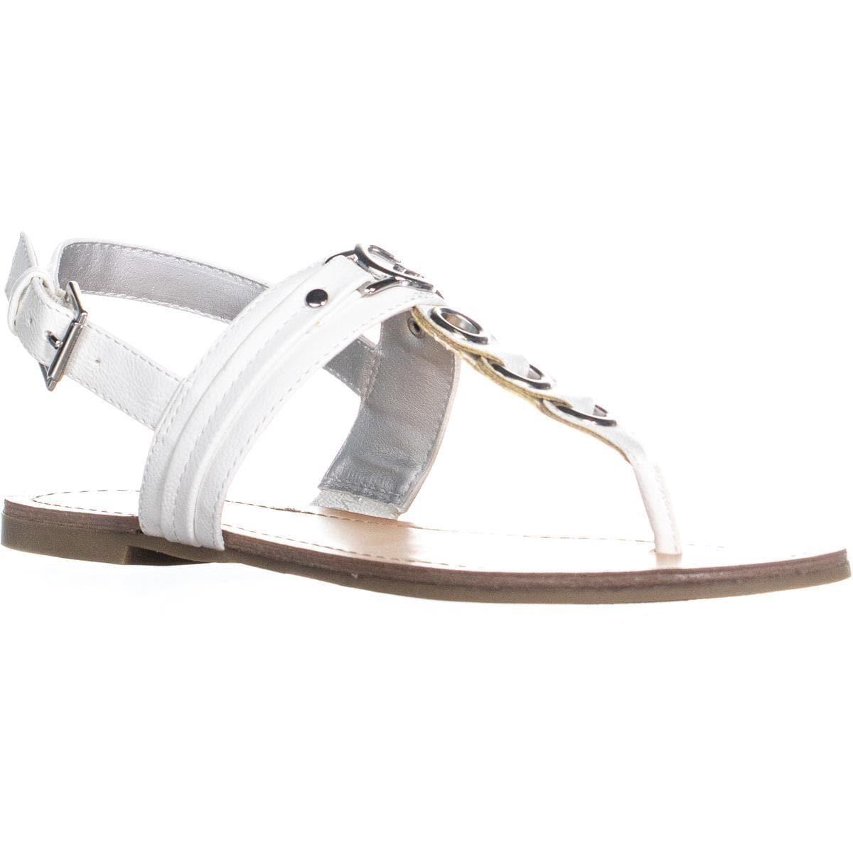 7adb2c5fc8a Shop G by Guess Lesha Buckle Thong Sandals