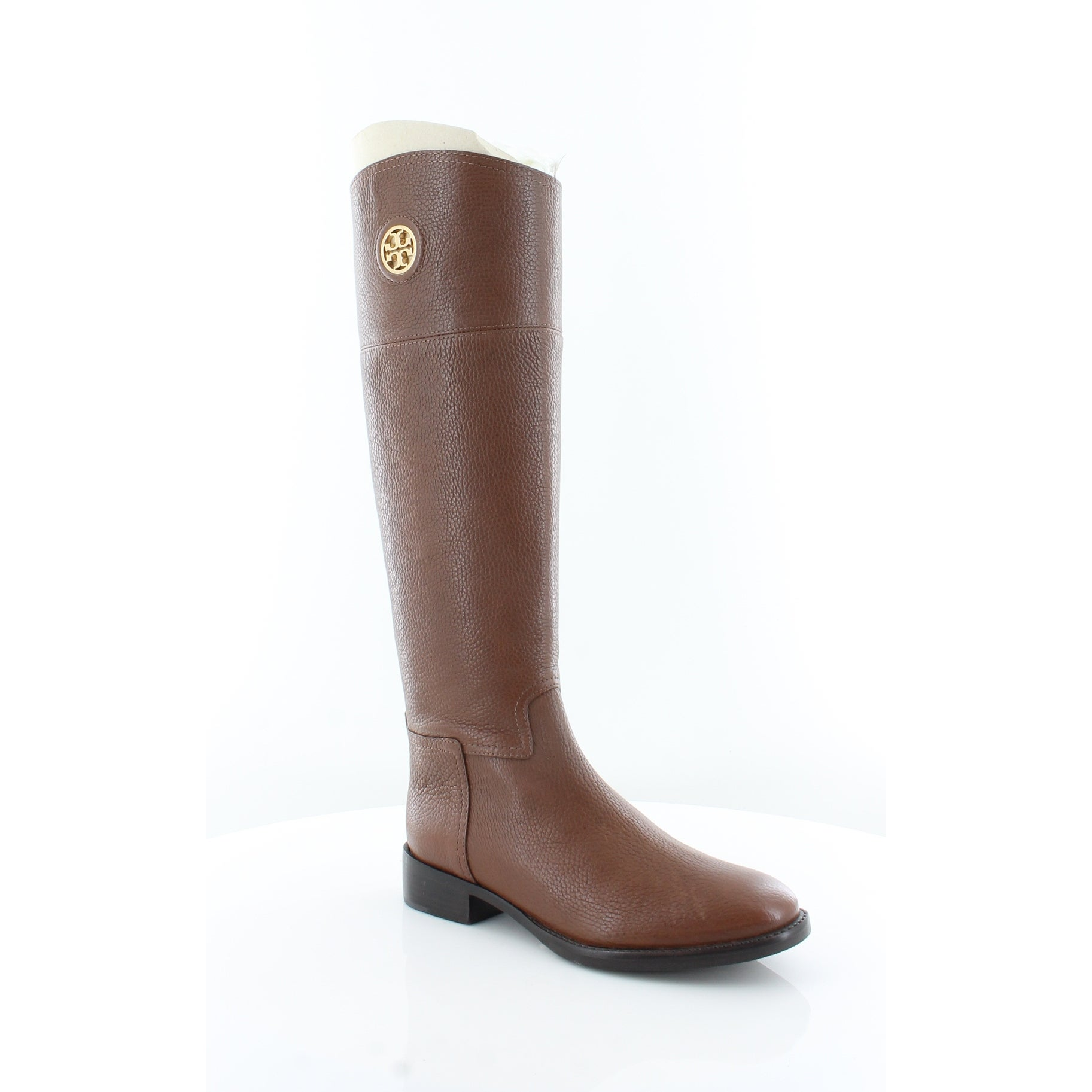 0dd3a2d581ab Shop Tory Burch Junction Riding Boot Women s Boots Almond - Free Shipping  Today - Overstock - 21550762