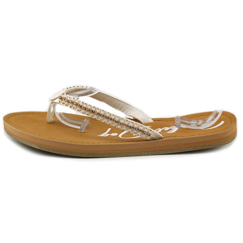 5a169dffc Shop Rocket Dog Portia You Fancy Women Open Toe Synthetic White Flip Flop  Sandal - Free Shipping On Orders Over  45 - Overstock - 13698480