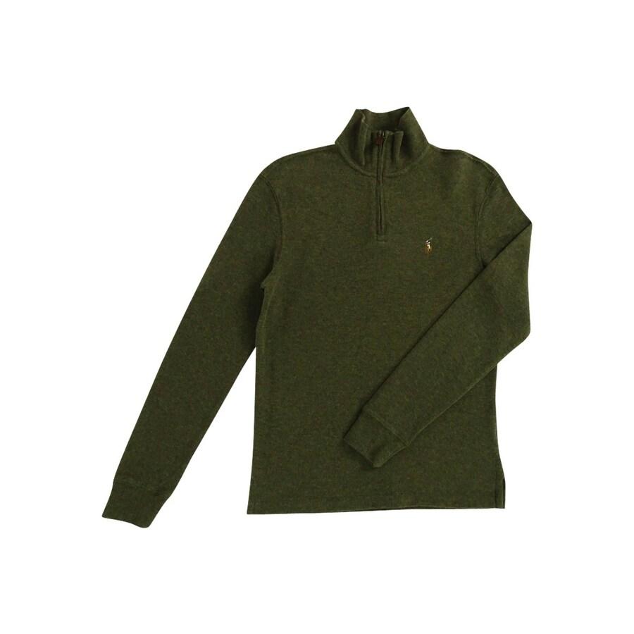 e7441ee66 Shop Polo Ralph Lauren Men s Estate Rib Half Zip Sweater - Free Shipping  Today - Overstock - 18691301
