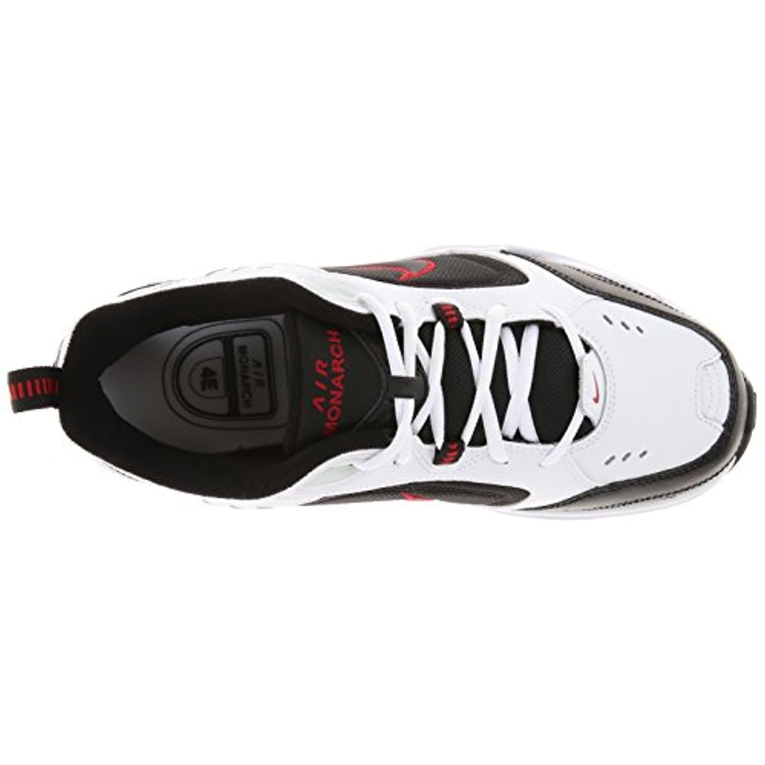 Nike Air Monarch IV Training Shoe (4E) - White/Black/Varsity Red - white /  black / varsity red - Free Shipping Today - Overstock.com - 24412797