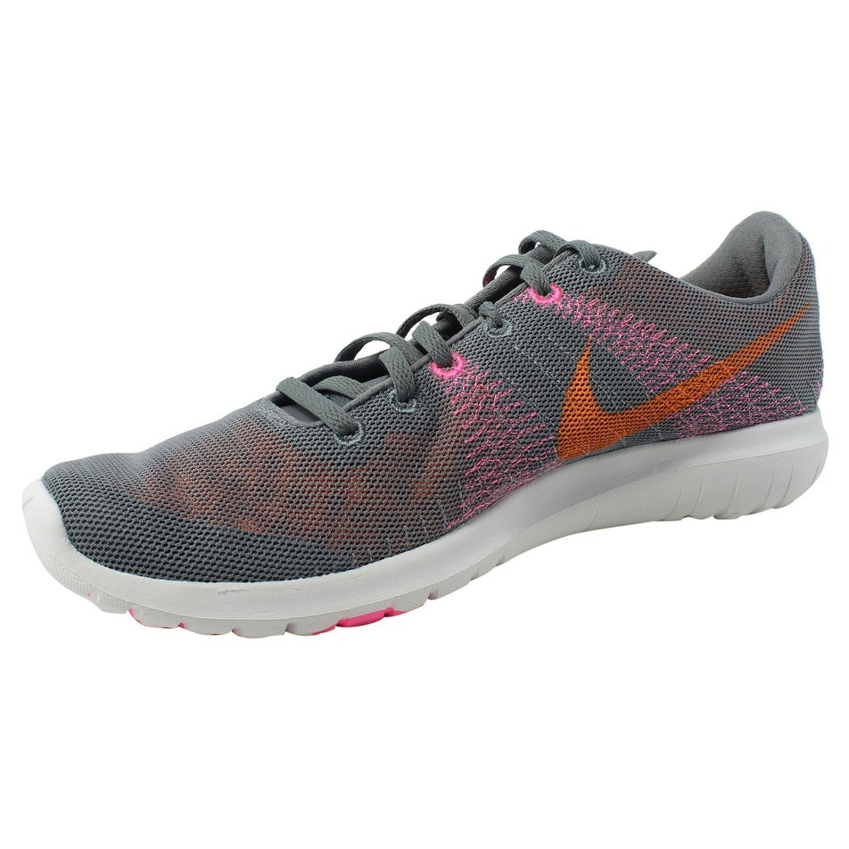 d4addd6458ab Shop Nike Womens Flex Fury Gray Running Shoes Size 11 - Free Shipping On  Orders Over  45 - Overstock - 24180683