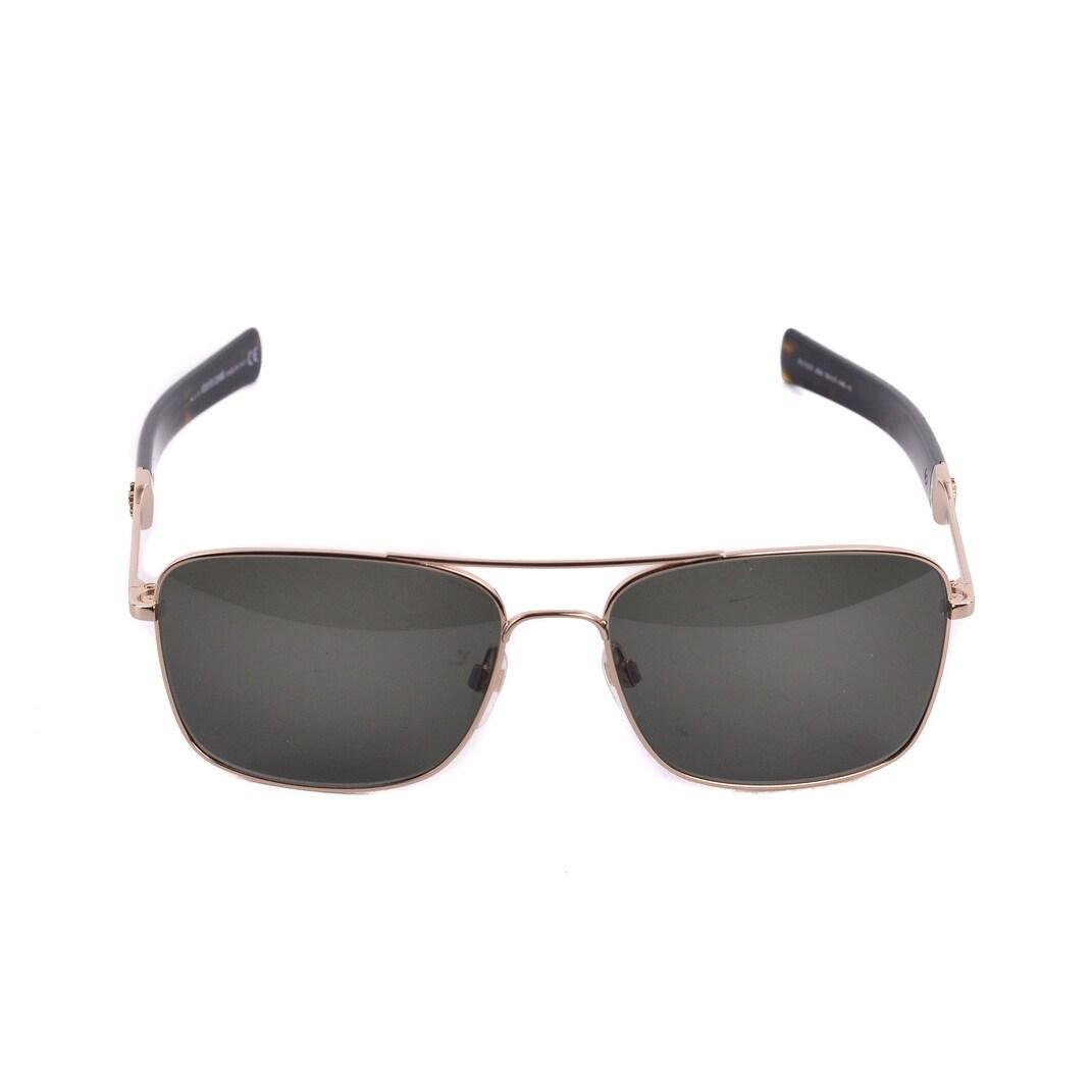 02985f99b718a Shop Roberto Cavalli Men s RC1020 Gold Metal Green Lens Aviator Sunglasses  RTL 310 - M - Free Shipping Today - Overstock - 23077350
