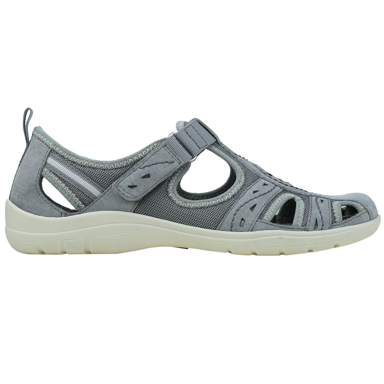 2b9418f8fa0a1 Earth Origins Womens Taye Leather Closed Toe Casual Slingback Sandals