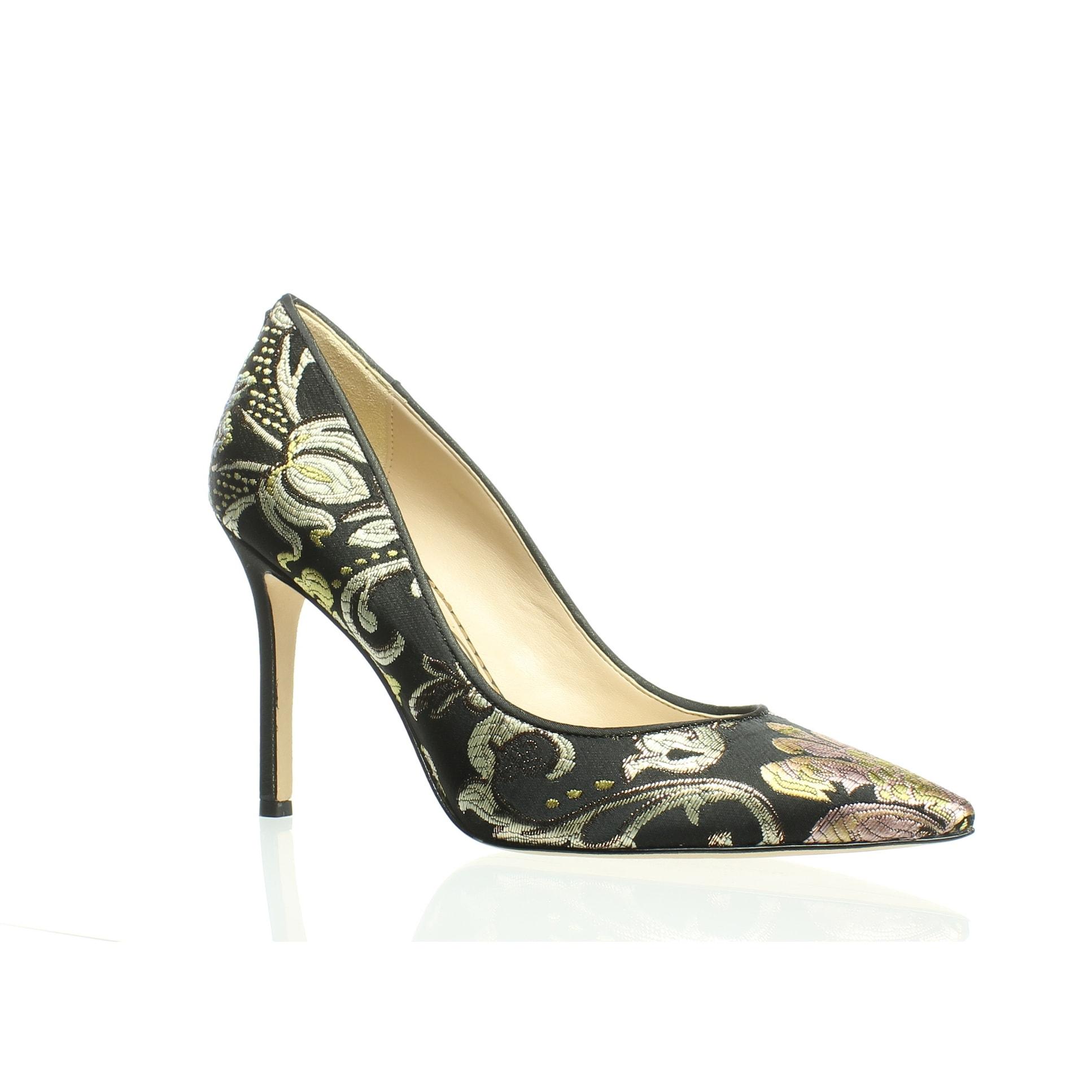 1b91d5d4b3 Shop Sam Edelman Womens Hazel Black/Gold Pumps Size 7.5 - Free ...