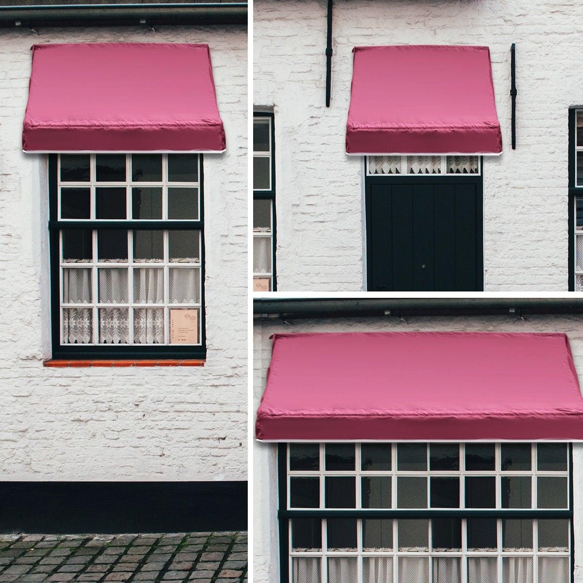 Shop Gymax Window Awning Door Canopy Sun Rain Shade Shelter