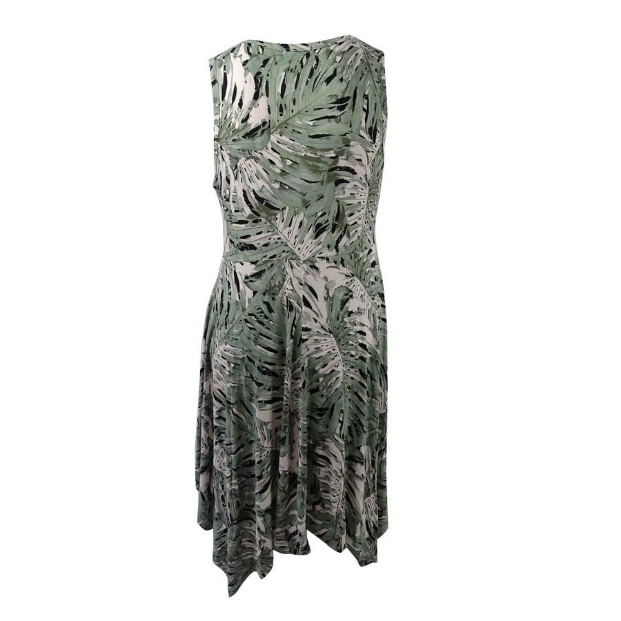 Shop Jessica Simpson Women\'s Plus Size Handkerchief-Hem Dress (1X ...